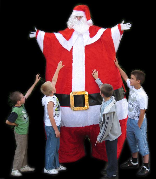 Giant Mr Santa